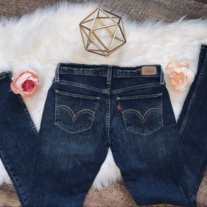Levi's Too Superlow 524 Skinny Jeans 5 L/C